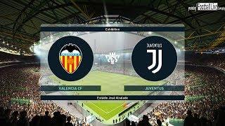 PES 2019 | Valencia vs Juventus FC | Full Match & Amazing Goals | Gameplay PC