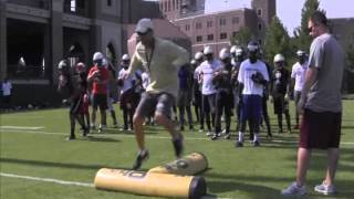RBs Jimbo Fisher Camp Day 2