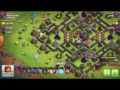 A Good Strategy To Get The Resource Collectors In Clash Of Clans For Town Hall 9