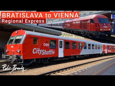 TRIP REPORT | ÖBB / ZSSK Regional Express | Bratislava to Vienna | CityShuttle | 2nd class