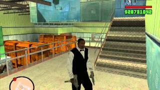 GTA SA 俠盜獵車手-聖安地列斯 51區 軍事基地 ( Part 1 如何進入 )