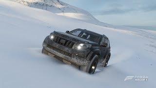 Forza Horizon 4 Toyota Land Cruiser Arctic Trucks AT 37 hillclimb