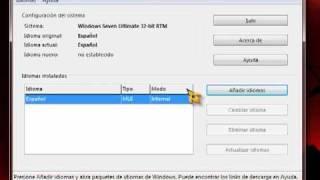 como cambiar de idioma el windows 7 (profesional, ultimate, starter, home basic, home premium)