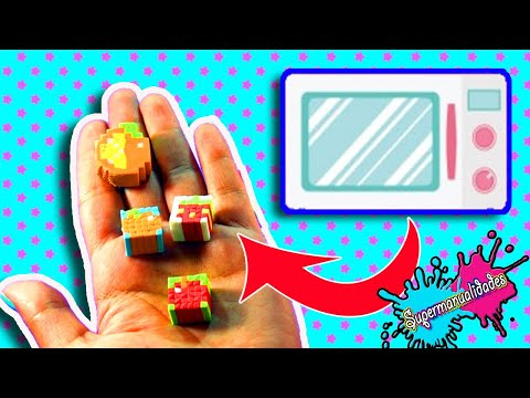 Homemade erasers on microwave, Do they work?  - Supermanualidades