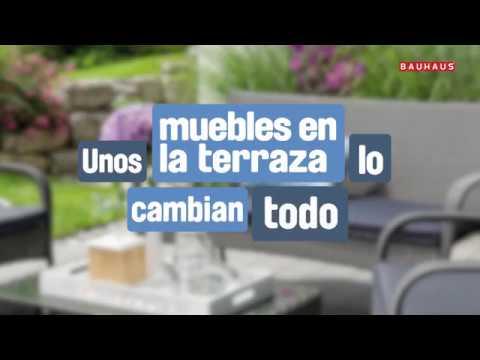 Unos Muebles En La Terraza Lo Cambian Todo Bauhaus By