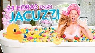 24 HORAS EN EL JACUZZI 🛁 con 9999 PATOS DE GOMA 😱 | Camila Guiribitey