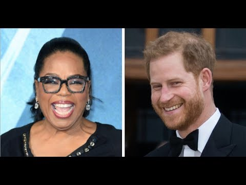 Prince Harry, Oprah Team Up For Apple TV Mental Health Series