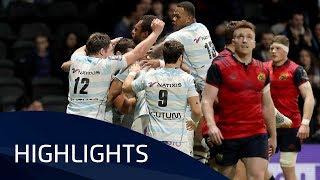 Racing 92 v Munster Rugby (P4) - Highlights – 14.01.2018