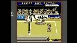 Power Spike Pro Beach Volleyball Game Boy