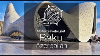 Baku Azerbaijan(Let's visit Baku in Azerbaijan. In this documentary video we will visit Baku and see Nizami Street, Old Baku or Icheri Sheher, Palace of the Shirvanshahs, the ..., 2017-01-05T19:50:08.000Z)