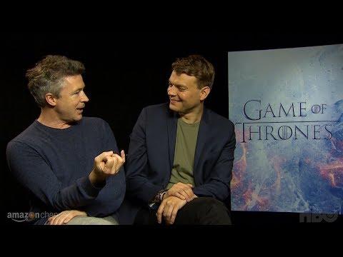 Game of Thrones Cast Vignettes: Aiden Gillen & Pilou Asbaek