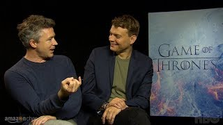 Game of Thrones Cast Vignettes: Aiden Gillen & Pilou Asbaek