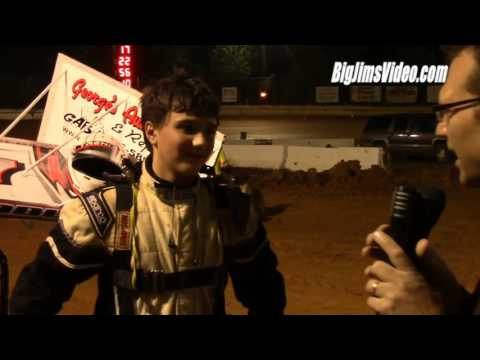Airport Speedway Micro Sprint Flips and Highlights 10-2-16