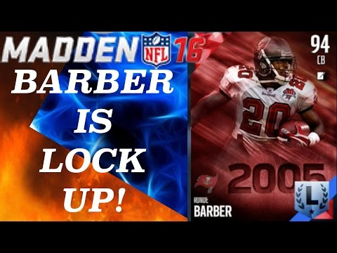 RONDE BARBER IS LOCK UP! LAG SQUAD! - Madden 16 Ultimate Team | MUT 16 Gameplay