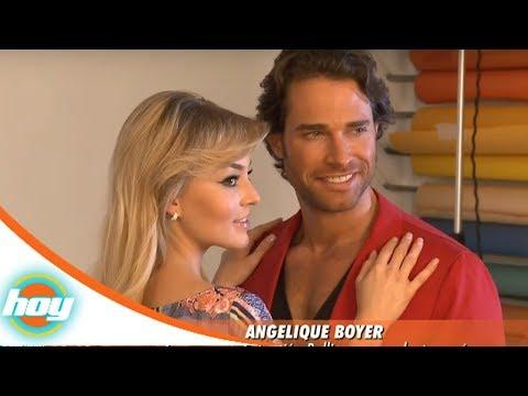 Angelique Boyer, orgullosa de Sebastián Rulli | Hoy