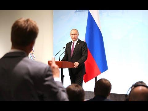 FULL Press Conference of Russian President Putin's Following G20 Summit in Hamburg, Germany