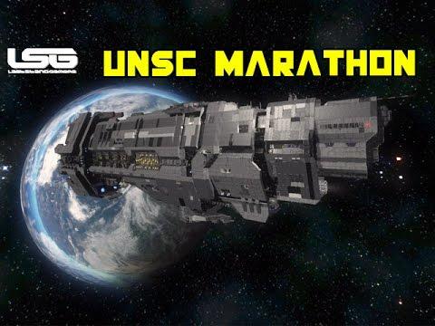 Space Engineers - UNSC Marathon Heavy Cruiser