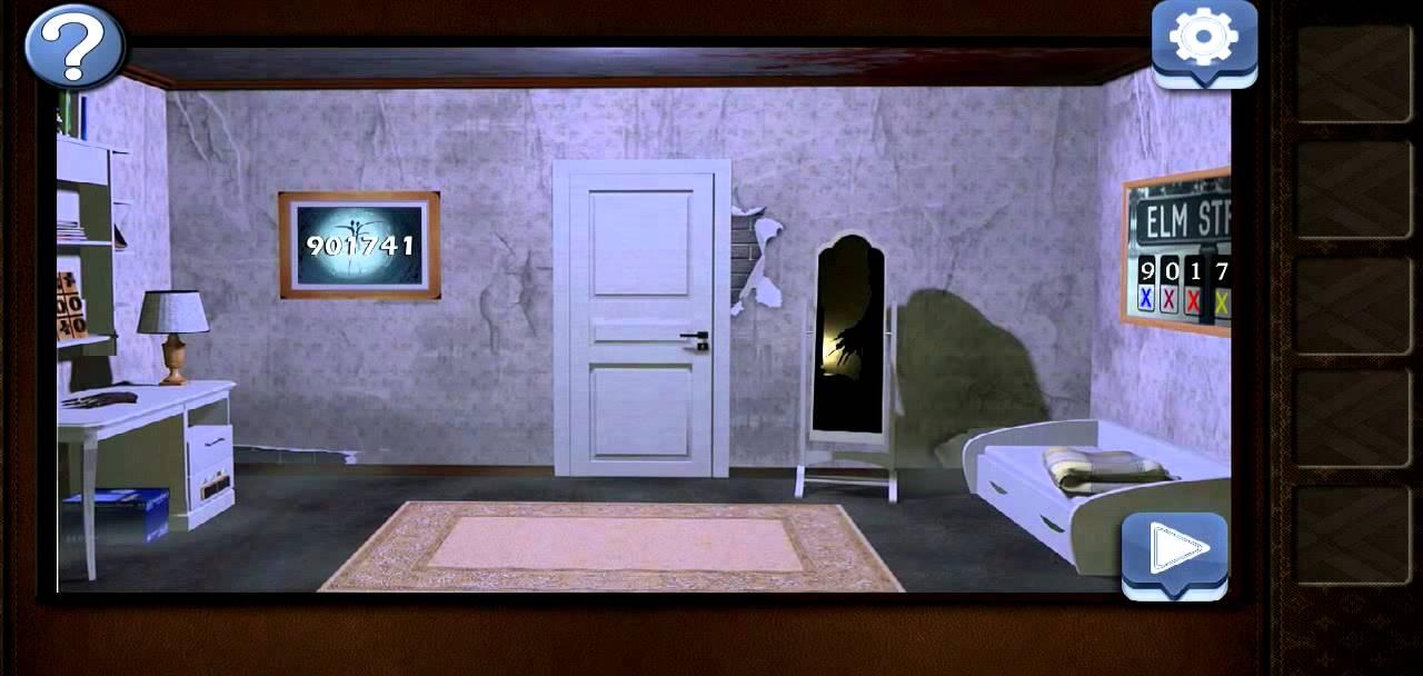 Room escape terror level 8 walkthrough youtube for Small room escape 6 walkthrough