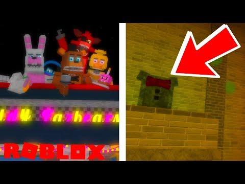 Finding The Secret Event 2 Animatronics Badge in Roblox