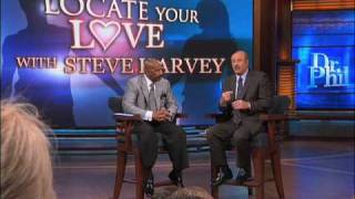 Dr. Phil and Steve Harvey Offer Relationship Advice to a Guest