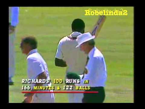 VIV RICHARDS 208 vs AUSTRALIA 1984/85 MCG