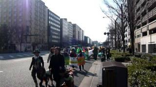 2008年3月9日 セントパトリックスデイパレード.