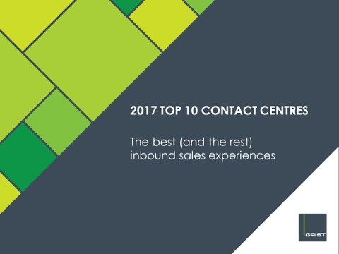 Grist 2017 Top 10 contact centres in Australia