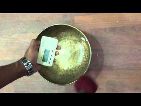 """10.6"""" Tibetan Antique Tiger Dim Singing Bowl"""