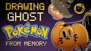Artists Draw Pokémon From Memory - Spooky Edition