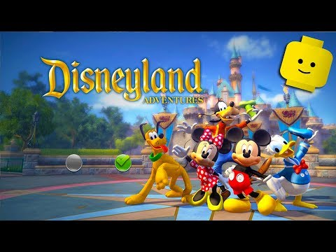 Mickey Mouse, Minnie, Donald And Goofy Cartoon Game Videos For Kids - Disneyland Adventures #1