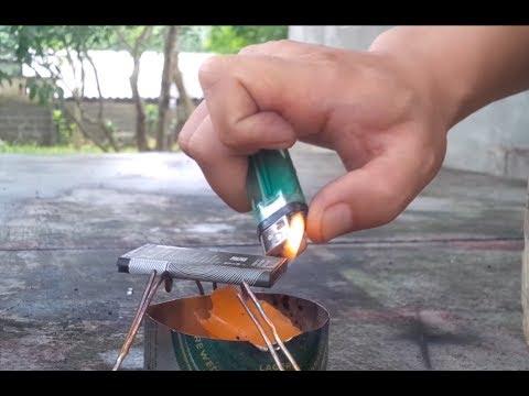Thí nghiệm đốt pin điện thoại và cái kết || Burning the Lithium Cell