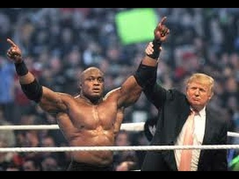 Donald Trump in WWE HALL OF FAME 2013.