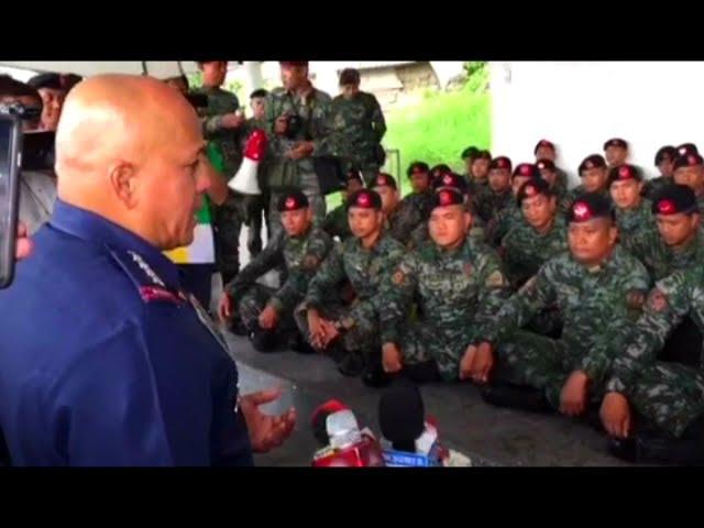 SAF members na inaakusahang sangkot sa illegal drug trade sa Bilibid, di aalisin — PNP chief