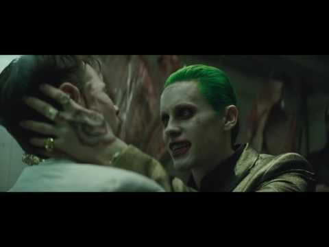 Suicide Squad JOKER laugh theme song trailer