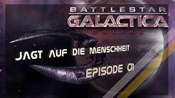 🚤 Battleatar Galactica 🚤 #01 Menschen Jagen [german] 🔴 [Live]