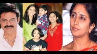 Telugu Hero Venkatesh Family photos | Venkatesh Daughters Rare Unseen Photos