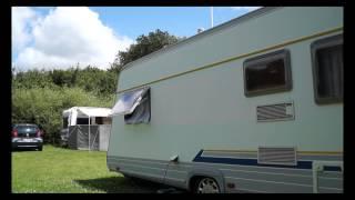 Tage Uhrskou besøger Vejlefjord Camping