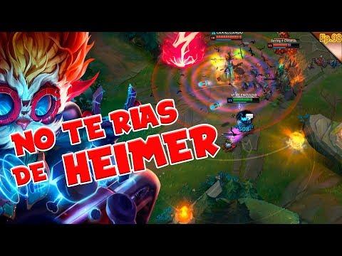 👨🎓 Cuando usar Morello 👨🎓 Se rien de Heimer | HEIMERDINGER MID S9 | GAMEPLAY ESPAÑOL |