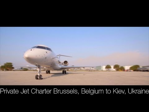 Private Jet Charter Brussels to Kiev