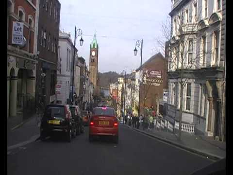 A DRIVE AROUND DERRY CITY, IRELAND (part one)