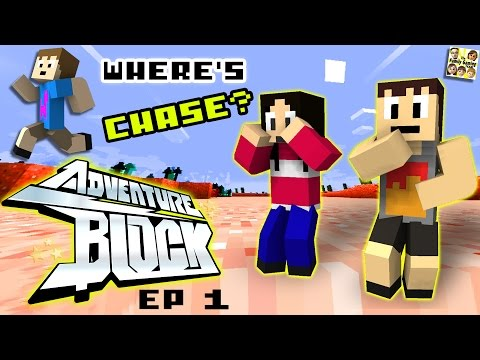 Adventure Block - Episode 1 - WHERE † S CHASE (Season 1 | FGTEEV MINECRAFT MINI-SERIES SHOW)