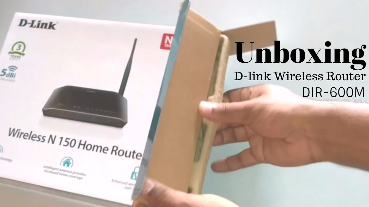 Unboxing D Link Wireless Router Dir 600m N150 Youtube N 150 Home