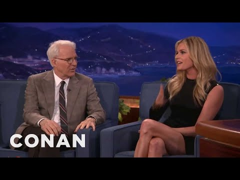 Rebecca Romijn: Steve Martin Starred In My Dirty Puberty Dreams  Conan on TBS