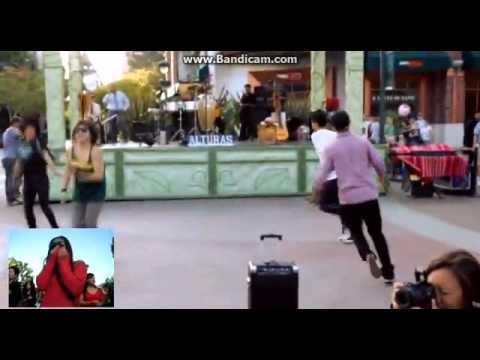Jamins Downtown Disney Flashmob Proposal Youtube