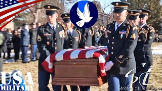 Full Military Honors Funeral for George T. Sakato, by Strategic Life Studios