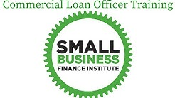 Commercial Lender Training provided by the Small Business Finance Institute