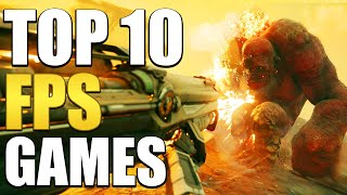 Top 10 FPS Games You Should Play In 2019