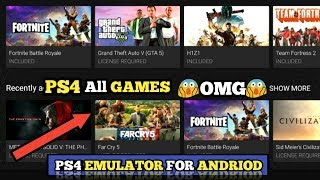 HOW TO PLAY PS4 GAMES ON ANDROID/ISO | PS4 EMULATOR FOR ANDROID /ISO| ANDRO TECH CP |