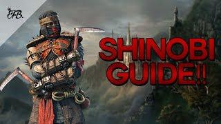 For Honor - Becoming a Shinobi GOD! - Beginner/Advanced Guide