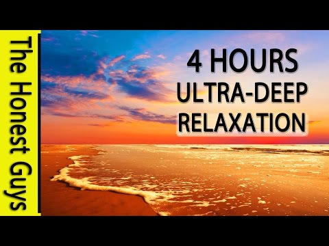 4 HOURS of ULTRA DEEP RELAXATION. Binaural Beat (432Hz Music) Theta Wave